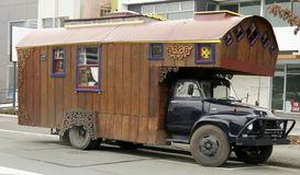 Type campant de la Nouvelle Zélande Image stock