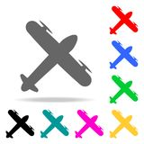 Type of cargo plane from above icon. Elements of Airport multi colored icons. Premium quality graphic design icon. Simple icon for. Websites, web design, mobile Royalty Free Stock Photo