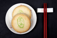 type chinois de dessert Photos stock