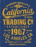 Type conception de vintage d'habillement de calage illustration libre de droits