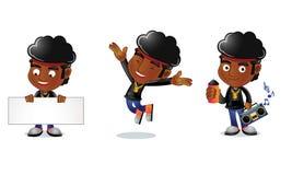 Type 1 d'Afro Images libres de droits