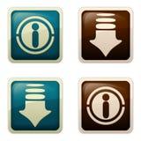 Type d'Aqua - obtiennent/information Photographie stock libre de droits