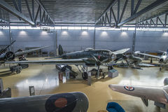 Type d'avions, heinkel il 111 Images libres de droits
