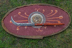 Type of Dacian ancient weapon Royalty Free Stock Images