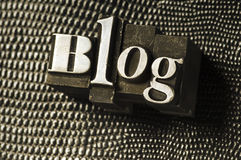 Type de blog Images libres de droits