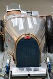 Type de Bugatti 51 supports de voiture de course de premier ministre à partir de 1931 dans le musée technique national Photographie stock libre de droits