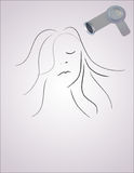 Type de cheveu Images stock