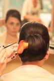 Type de cheveu photos stock