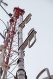Type de dipôle d'antenne pour la radio Image libre de droits