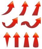 Type de divers ensemble de flèche illustration de vecteur
