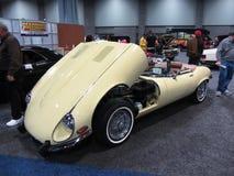 Type de Jaguar E de vintage Photo libre de droits