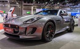 Type de Jaguar F Image stock