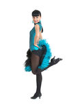 Type de Latina de danseur de salle de bal Image libre de droits