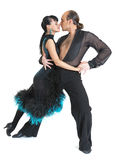Type de Latina de danseurs de couples Photo stock