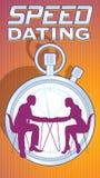 Type de logo de datation de vitesse Photo libre de droits