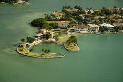 Îles à Miami Photographie stock