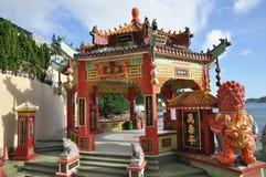 Type de pavillon d'hexagone de la Chine Photo stock
