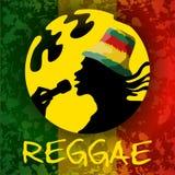 Type de reggae illustration stock