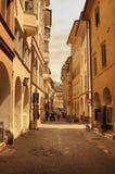Type de rues de Florence Image stock