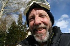 Type de ski heureux Image libre de droits