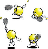 Type de tennis Images libres de droits