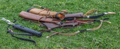 Type de tirs à l'arc antiques de Dacian Photos libres de droits
