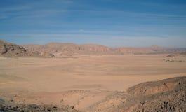 Type on desert Royalty Free Stock Image