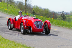 Type E de Healey Silverstone de véhicule de 1950 Photo stock