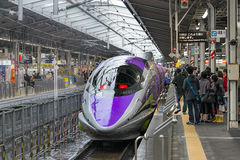500 TYPE EVA, le Shinkansen vaisseau-orienté Photos stock