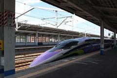 500 type Eva Project Shinkansen royalty-vrije stock foto
