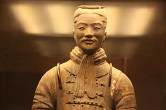 Type of The famous terracotta warriors Royalty Free Stock Photo