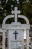 Type of funeral cross 17 Stock Photo