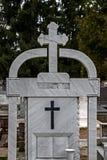 Type of funeral cross 17 Stock Photo