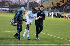 Type Gnabouyou d'Olympique de Marseille Photo libre de droits