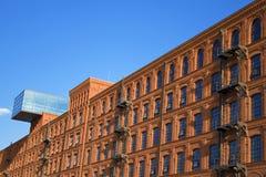 Type historique de construction d'usine. Photos libres de droits