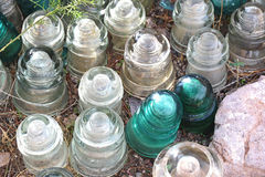 Type isolateurs de tension de porcelaine Photos stock