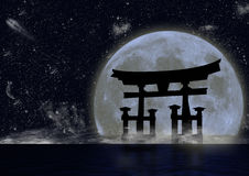 Type japonais Image stock