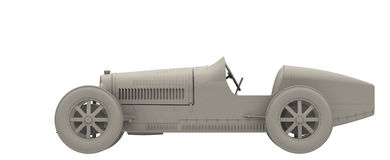 Type 35 kant Stock Illustratie
