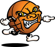 Type mauvais de basket-ball Image libre de droits