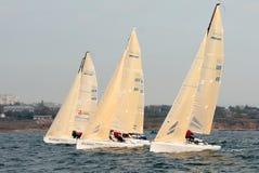 Type Melges-24 de yacht Image stock