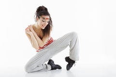 type moderne de danseur Photos stock
