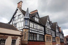 Type noir et blanc de Tudor Photos libres de droits