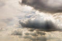 Type nuages de cumulus image libre de droits
