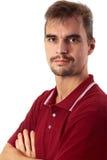 Type occasionnel - bras croisés Images libres de droits
