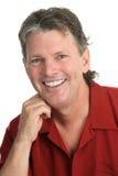 Type occasionnel - perfectionnez le sourire images libres de droits