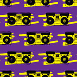 Type recorder seamless pattern. Stock Photography