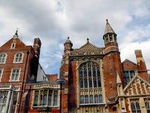 Type Red-brick de Londres. Images libres de droits