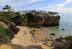 Type of relief (Albufeira, Portugal) Royalty Free Stock Image
