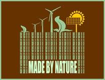 Type of renewable energy info graphics background Stock Photo