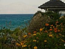 Type of the sea of Crete Stock Image